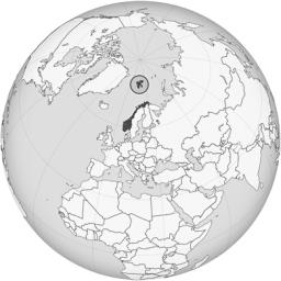 Ubicación Noruega y de las Islas Svalbard