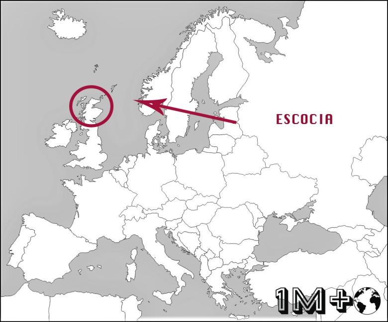 ubicaciÓn de escocia
