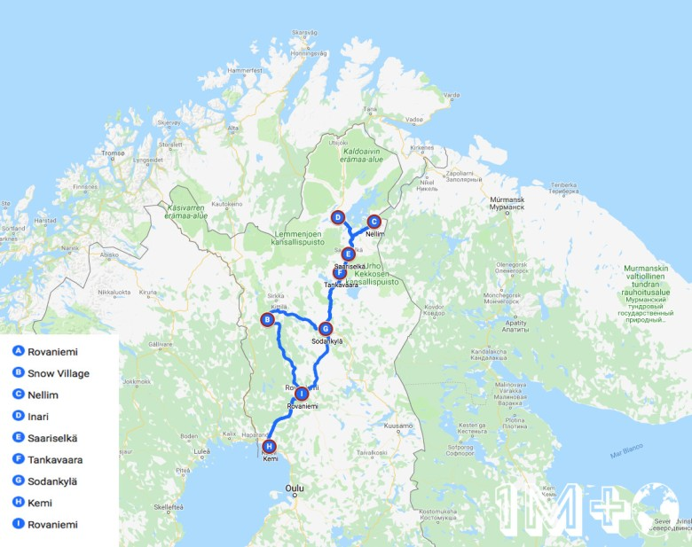 Ruta por Finlandia